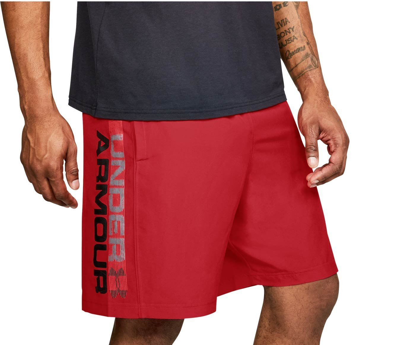 Kratke hlače Under Armour Woven Graphic Wordmark Short