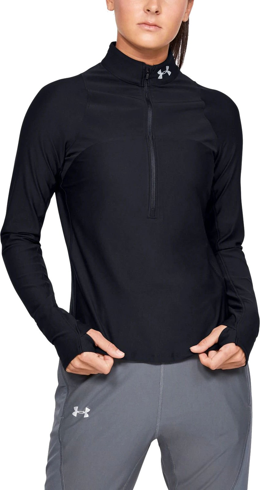 Majica dugih rukava Under Armour UA Qualifier Half Zip