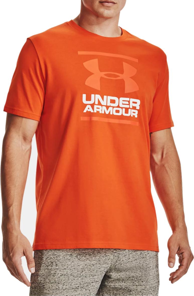 Majica Under Armour UA GL Foundation SS T-RED