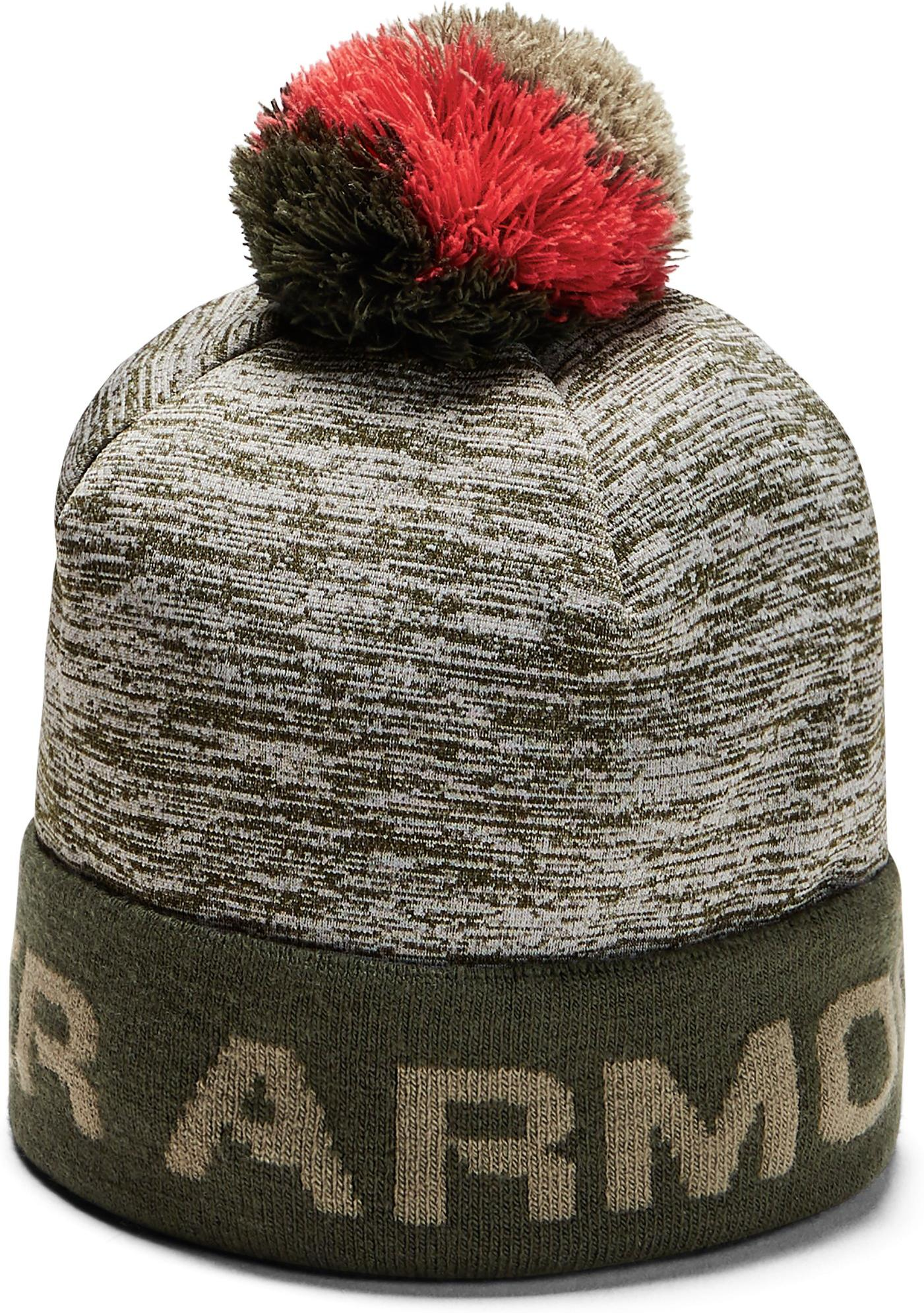 Kape Under Armour Boy's Gametime Pom Beanie