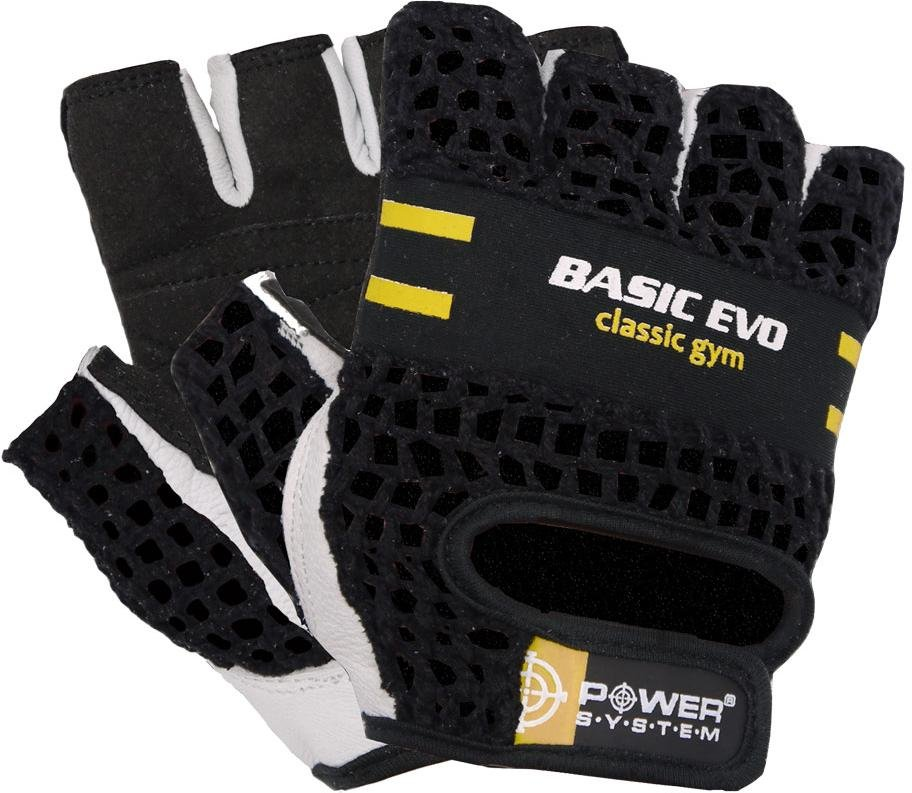 Rukavice Power System POWER SYSTEM-GLOVES BASIC EVO- YELLOW