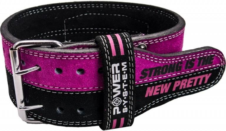 Pojas Power System POWER SYSTEM-BELT STRONG FEMME-PINK